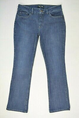 RIDERS by Lee Size 12 M MIDRISE BOOTCUT Womens STRETCH Medium Wash Blue Jeans