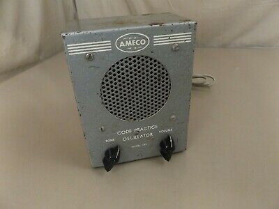 Vintage Ameco CPS Code Practice Oscillator