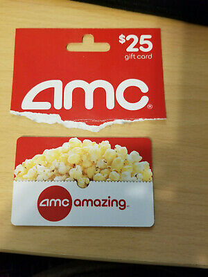 AMC Theatres $25 USD Gift Card FREE SHIP! Cineplex Odeon, Magic Johnson and Star