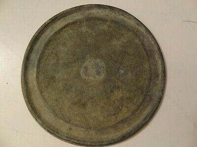 Antique Mongolian Brass Shaman's Mirror Melong Toli
