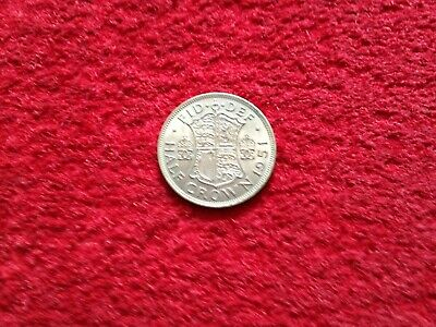 King George VI 1951 Half Crown Coin VGC