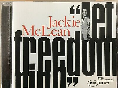JACKIE McLEAN - Let Freedom Ring CD 2003 Blue Note RVG Excellent Cond!