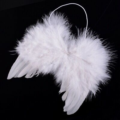 Fancy Toddler Infant Baby Kids Angel Fairy Feather Wings Props Costume Dress UK