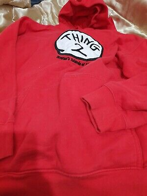 Lovely Unisex Thing 2 Universals Islands Of Adventure Hooded Jumper Size Small