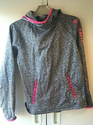 Girls Active Wear Hooded Top 7-8 Years