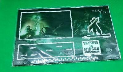 Final Fantasy VII FF7R remake acrylic stand Sky Tree collaboration cloud Limited