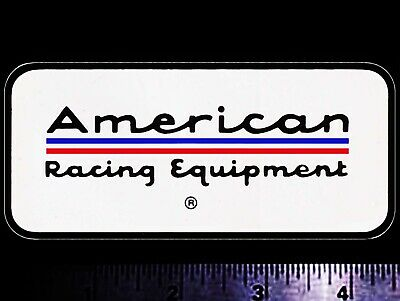 AMERICAN Racing Equipment - Original Vintage 1960's 70's Racing Decal/Sticker