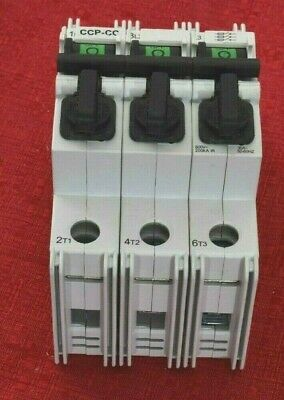 New Old Stock Cooper Bussmann 30A Fused Circuit Breaker Fuse-Holder Ccp-3-30Cc