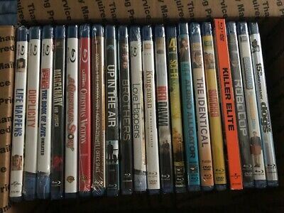 Lot Of 20 Assorted Blu-Ray Movies - All Brand New - Free Shipping