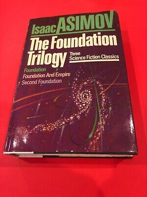 Isaac Asimov : The Foundation Trilogy Hardcover BCE Original Dust Jacket / MNS
