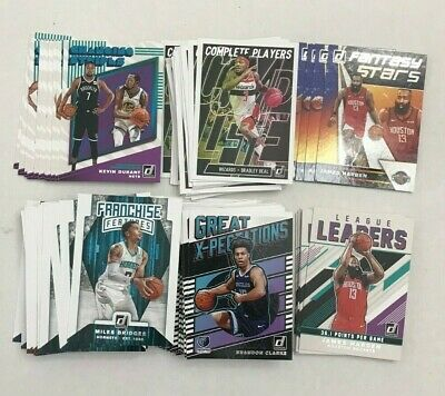2019-20 Donruss NBA Basketball Retail Single Insert Cards You Pick Choose!