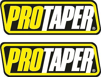 PRO TAPER Vinyl Hard Hat Sticker Decal Motorcycle Car Body Decor with 3M MP