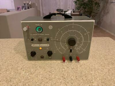 SICO Superior Instruments Co C.R. Bridge And Signal Tracer Model 76 works!!!