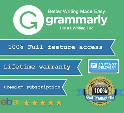 SALE  ✅ Grammarly Premium Lifetime Account ✅ [Fast Delivery] ✅ 100% Guaranteed ✅