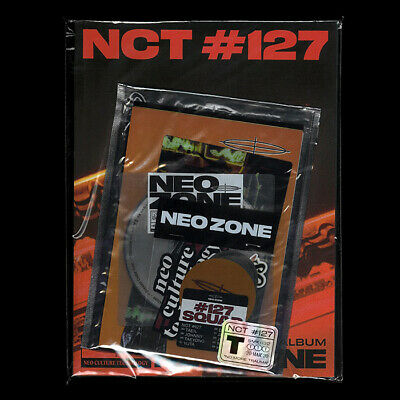 NCT 127 [NEO ZONE] 2nd Album T Ver. CD+Photo Book+3 Card+7 Sticker+Poster SEALED