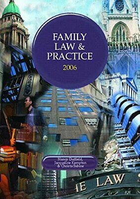 Family Law and Practice 2005/2006 (Lpc)