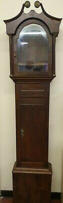 Oak Loncase Grandfather Clock Case