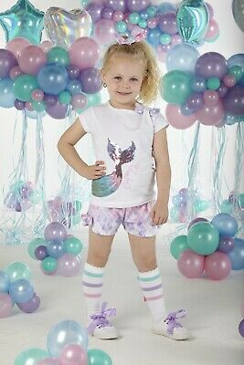 Ariana Dee Chrissie Mermaid Shorts Set S203518