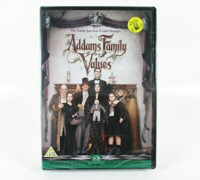 Addams Family Values DVD Christopher Lloyd Anjelica Houston NEW AND SEALED