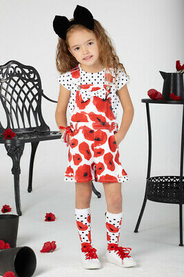 Ariana Dee Agnes Poppy Dungaree Set S201503