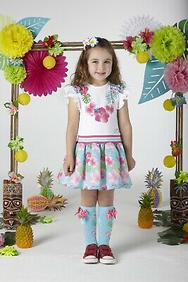 Ariana Dee S204914 Dunn Hawaiian Knee High Socks