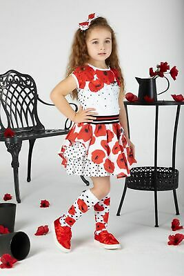 Ariana Dee S201903 Allyson Poppy Knee High Socks