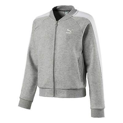 Puma Kids Girls T7 Archive Track Top Tracksuit Jacket Long Sleeve Hooded Zip