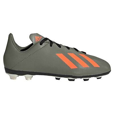 Yellow Boys Junior Adidas Football Soccer Boots Shoes Moulded Firm Artificial