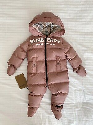 Burberry Baby Snow Suit Size 9 Months