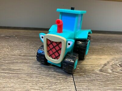 """BOB THE BUILDER ROLLEY THE TRACTOR GREEN WITH GRAY ROLLERS TALKS 5/"""""""