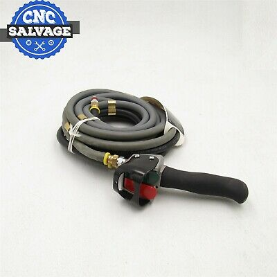 Ingersoll Rand Pneumatic Hoist Handle Control Pendant With Hoses