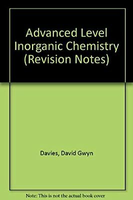 Advanced Level Inorganic Chemistry (Revision Notes)