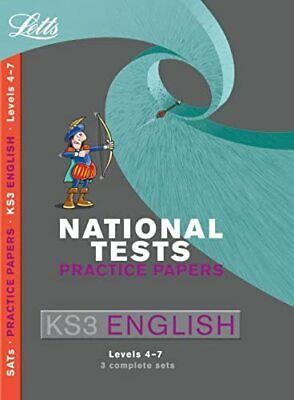 Letts Key Stage 3 Practice Test Papers – KS3 National Test Practice Papers Engli