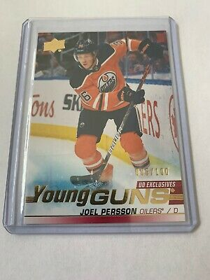 Joel Persson 2019-20 Upper Deck Series 2 Young Guns Exclusives /100 #497
