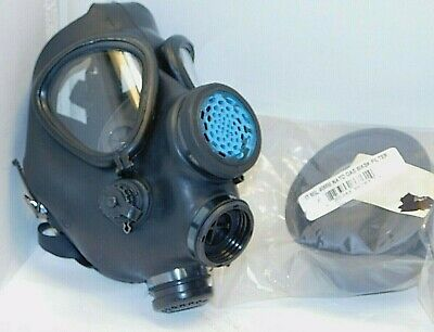 Israeli M-15 Military ADULT Gas Mask, w/ New NATO FILTER. Surplus, excellent M15