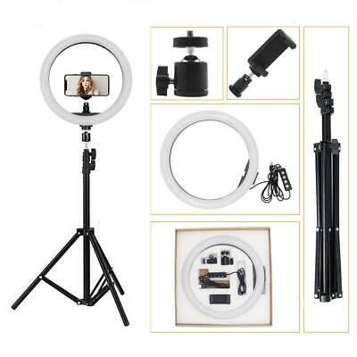 10'' LED Ring Light Tripod Stand Selfie Video Photo For Youtube iPhone GoPro