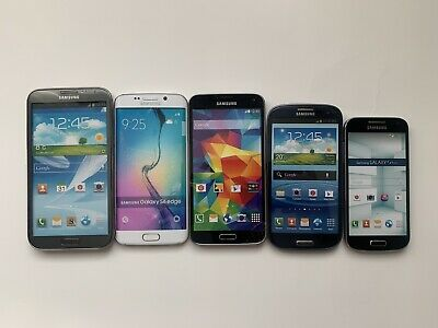 Lot Of 5 - Samsung - Dummy Phones - Non-working - Display - Toy - S3 S4 S5 S6