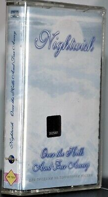 "Nightwish ""Over The Hills And Far Away"" Russian Cassette! Universal"