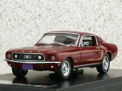 FORD Mustang GT - 390 Fastback - 1968 - bordeaux - Premium X 1:43