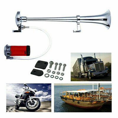 178db 12V Super Loud Air Horn Compressor Single Trumpet Lorry Truck Boats Train
