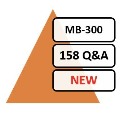 Updated MB-300 Exam 97 Q&A PDF File Only!