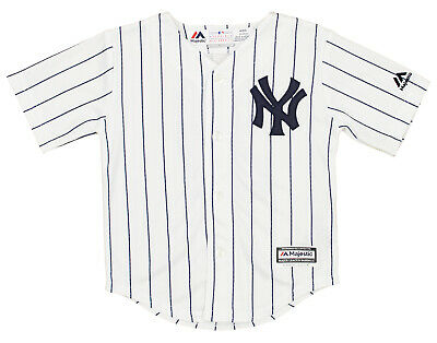 Majestic MLB Toddler New York Yankees Stanton Giancarlo #27 Player Jersey, White