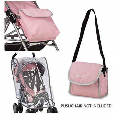 Silver Cross Pop Universal Dolls Pushchair Accessory Pack Vintage Pink