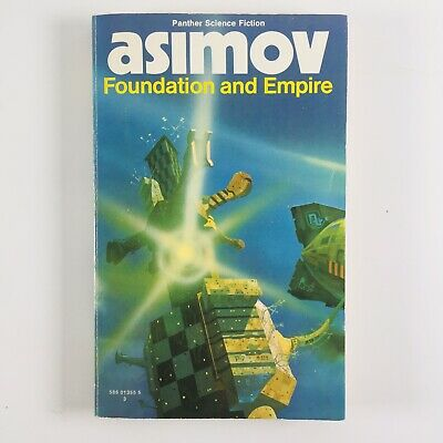 Isaac Asimov - Foundation and Empire (1974 Paperback) Panther Science Fiction