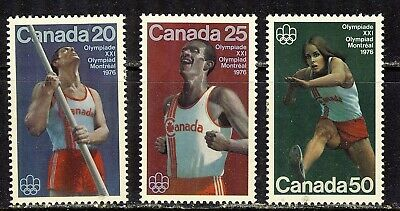 1975 #664-#666 Olympic Track And Field Sports Vfnh