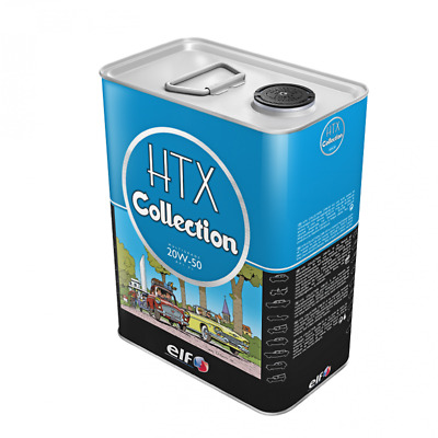 Huile véhicules HTX COLLECTION 20W50, 5 L