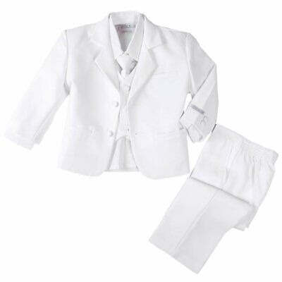 Spring Notion Baby Boys Suits True White US Size 9 Months Notched-Lapel $44 030
