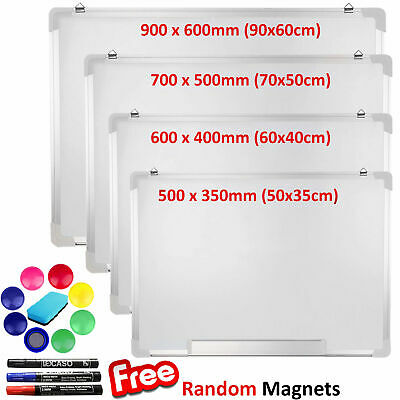 Magnetic Dry Wipe Whiteboard Drawing Board Memo Notice Eraser Pen Office School