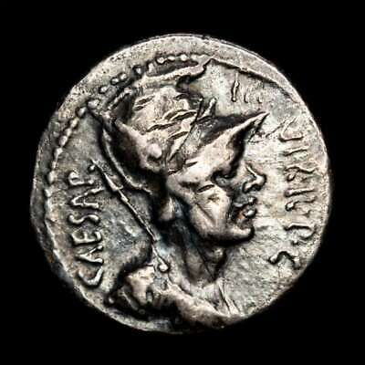 *Lucernae* Octavian Denarius Aquila and two signa Mobile mint, Greece 42 B.C.