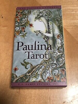 Paulina Cassidy Tarot Card Deck 78 Cards Factory Sealed